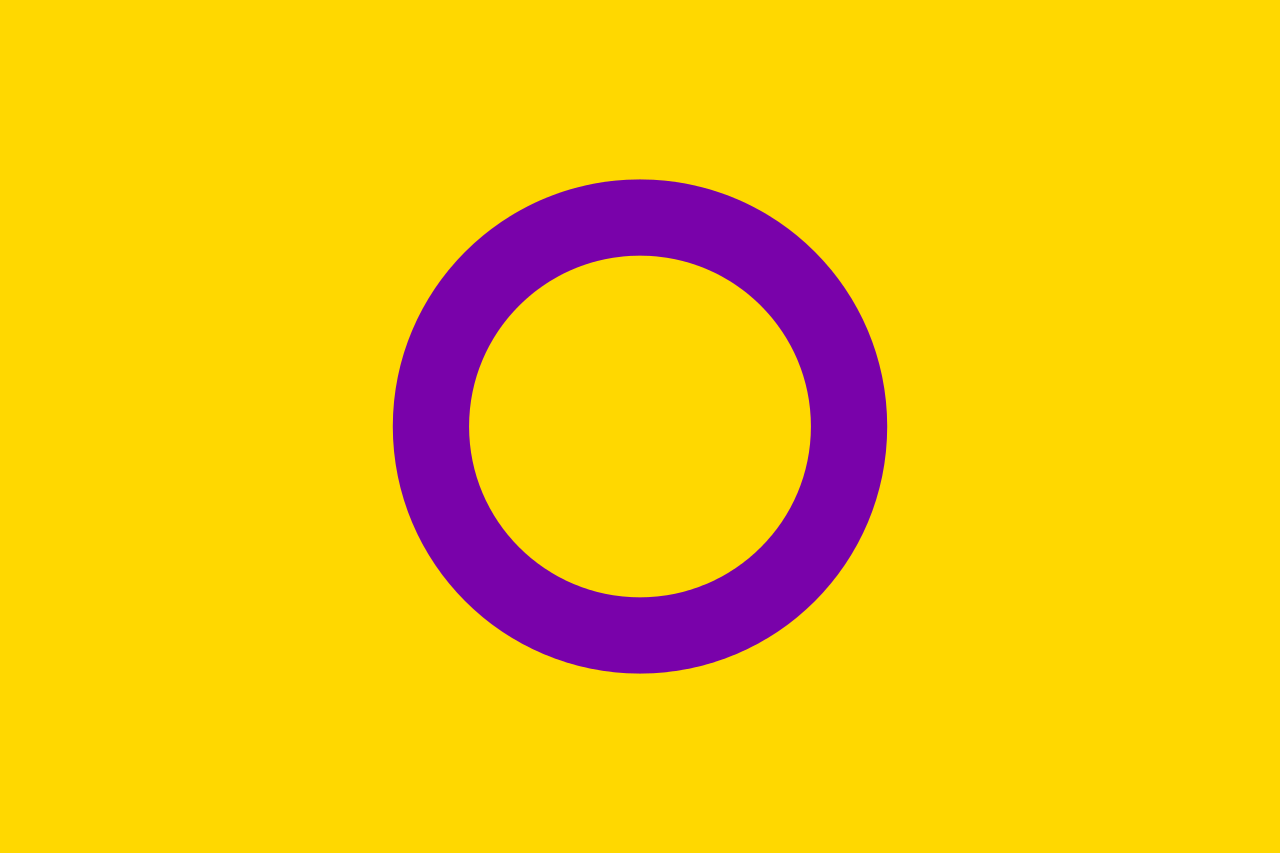 bandiera intersex